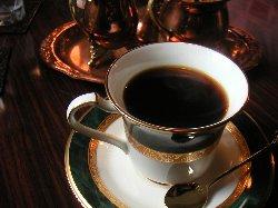 好きなカップを選んで、珈琲を楽しむことができます。