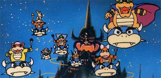 The Koopalings In Cartoons